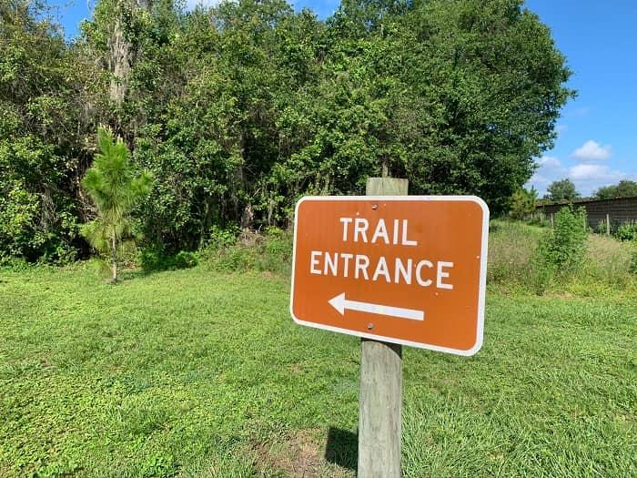 Lakeland Highlands Scrub Entrance