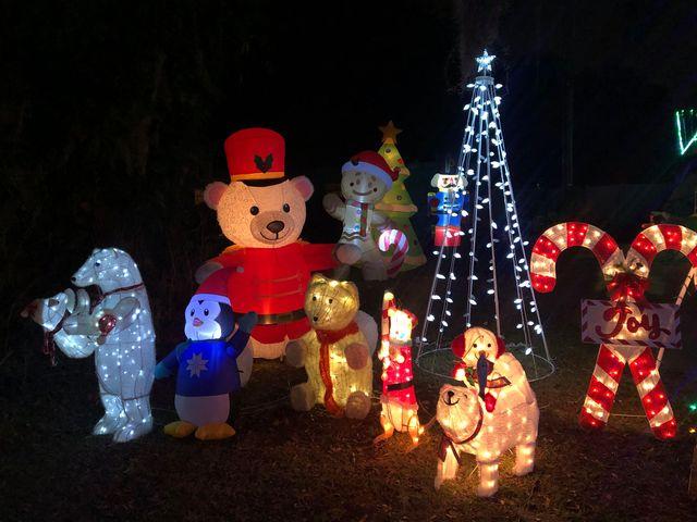 Christmas Lights Lakeland Florida KM 2
