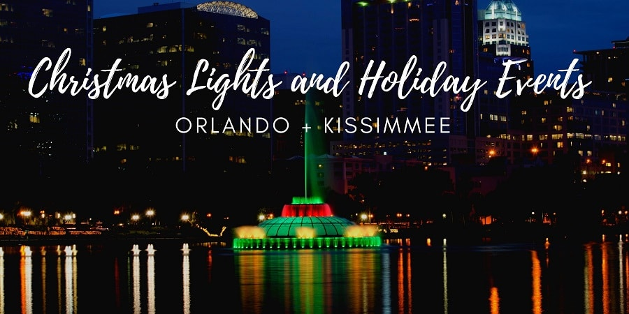 Holiday Activities, Attractions, + Christmas Lights in Orlando