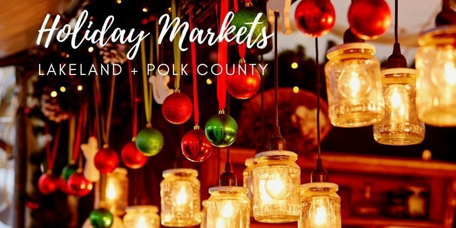 Holiday Markets Christmas Lakeland Florida