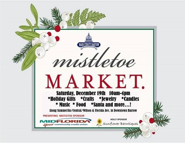 Mistletoe Market 2020 Bartow