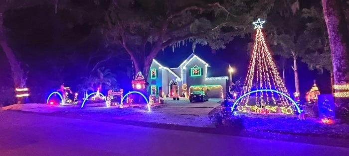 Christmas Lights Bartow Florida