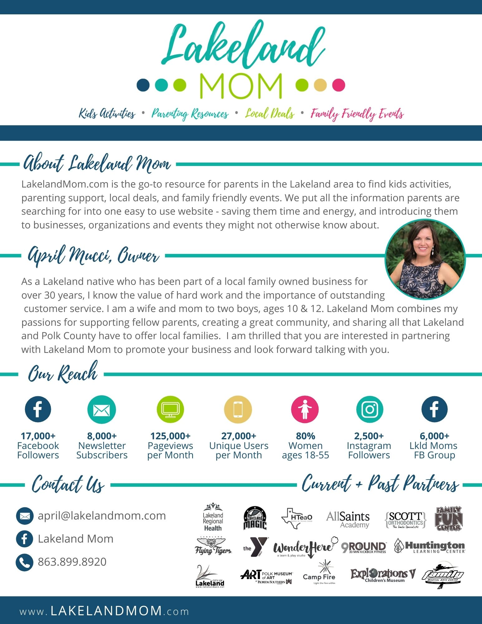 Lakeland Mom Media Kit