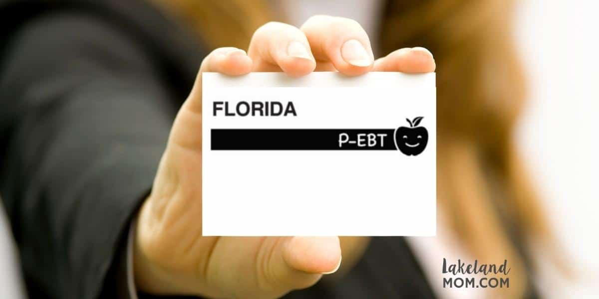 Florida P EBT for students Emergency Food Stamps