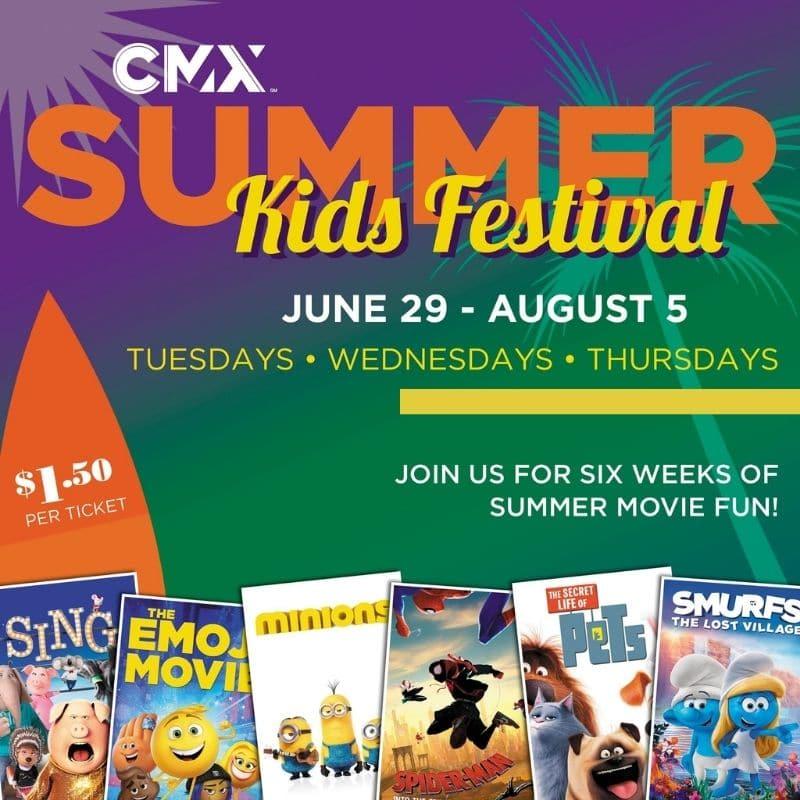 2021 CMX Cobb Summer Movies Lakeland