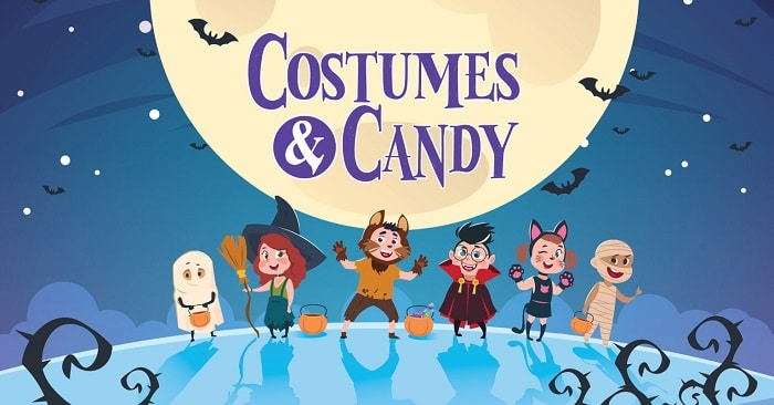 Costumes and Candy at First Presbyterian Church 2021