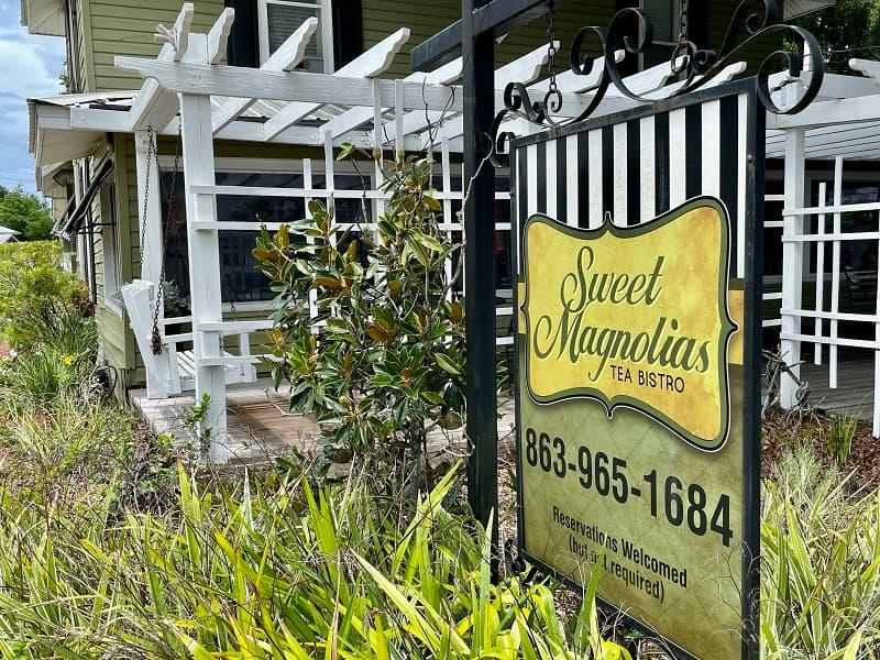 Sweet Magnolias Tea Room Auburndale Fl
